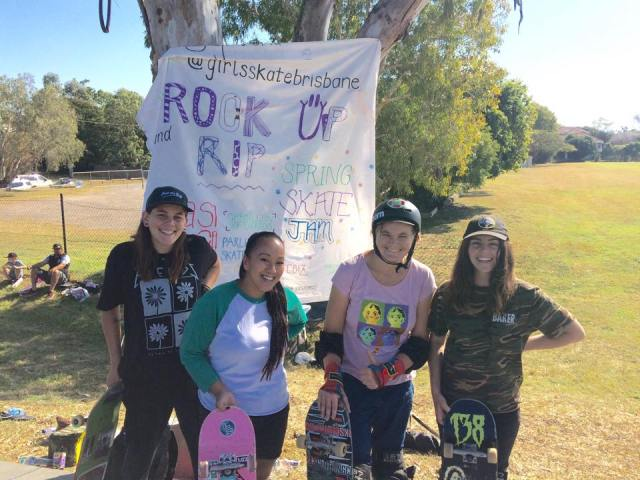 Girls Skate Brisbane Co-founders